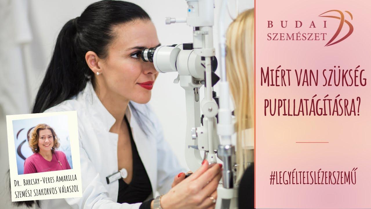 szemészeti konzultáció a visinról)