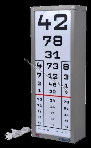 látásélesség 0 16
