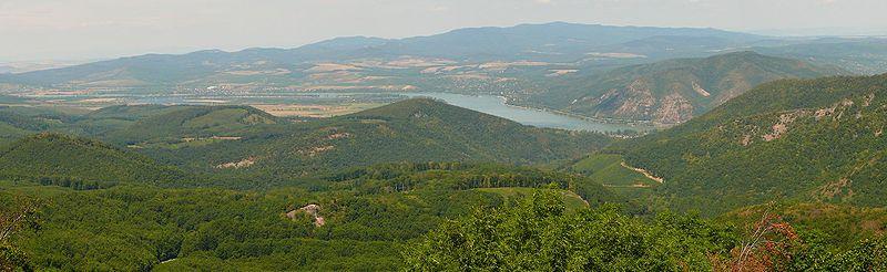kilátás domborzata)