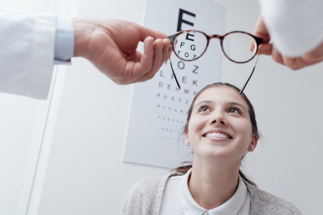 torna a szem látásélességéhez