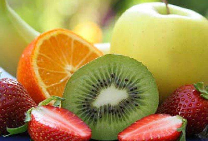gyümölcs a látástól