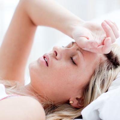 Látáskárosodás álmosság
