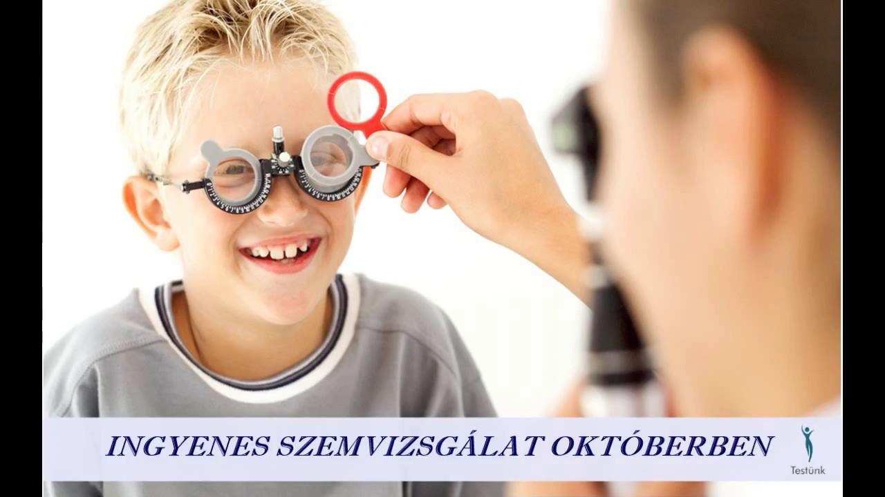 Ingyenes szemvizsgálat | Optika Plus