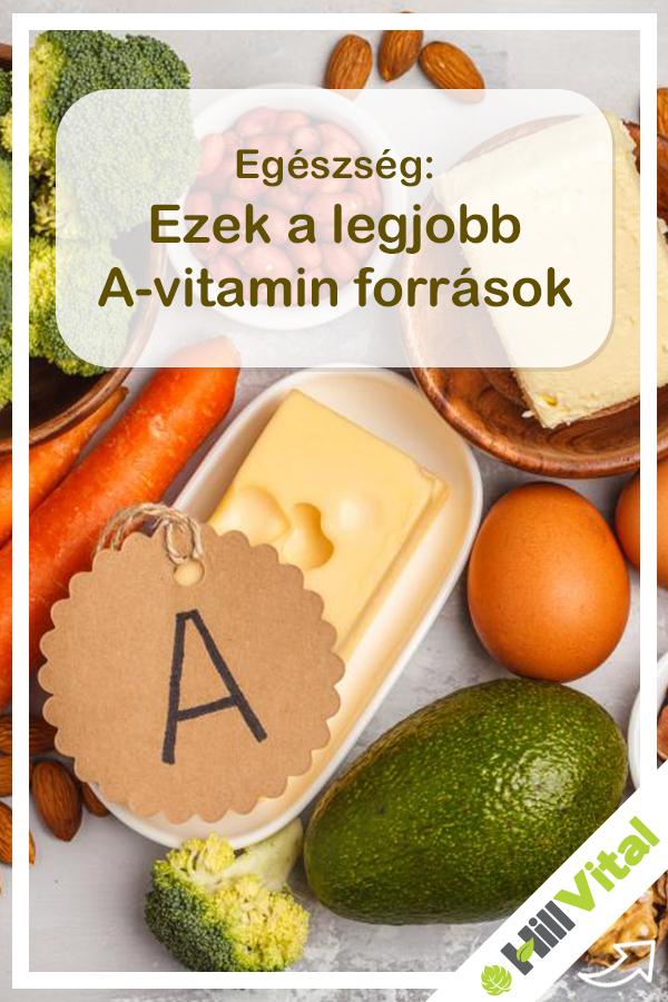 milyen vitamint látásból)