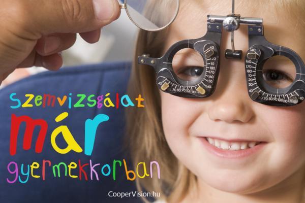 Szemvizsgálat már gyermekkorban - Mikor vigyük el őket először?
