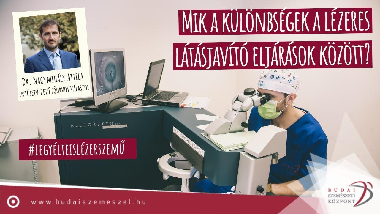 A lézeres szemműtét az ideális megoldás.