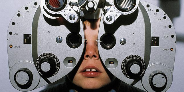 agy- és látásbetegség homályos látás miatt