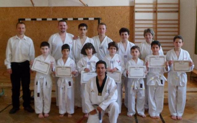 taekwondo és látás)
