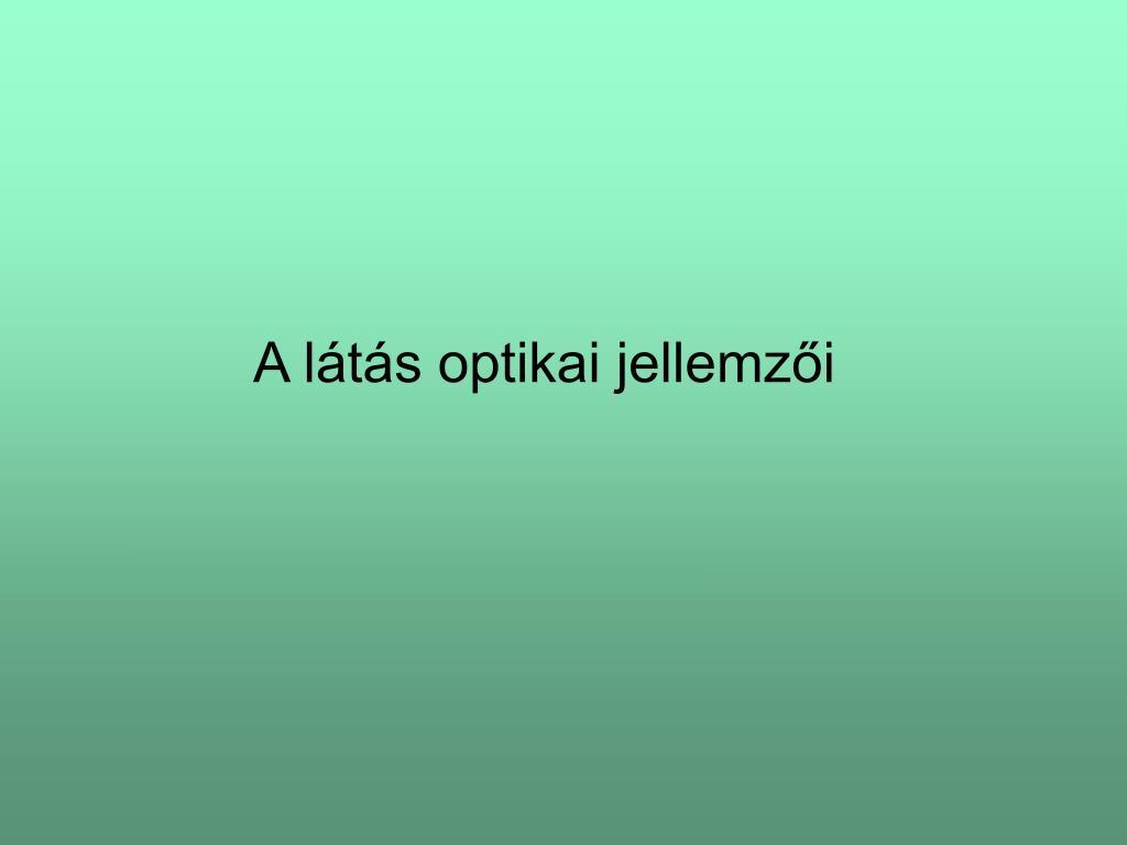 sejt és látás)