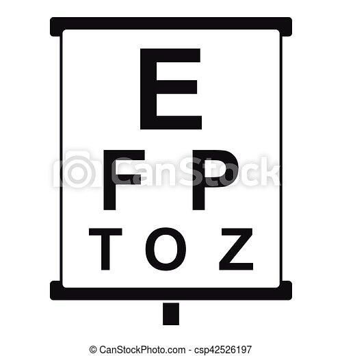 gyerekek látás teszt poszter