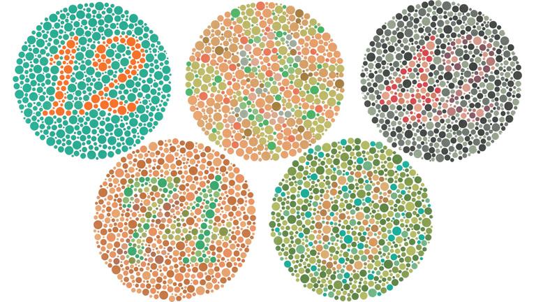 a látás vizsgálata táblázat segítségével