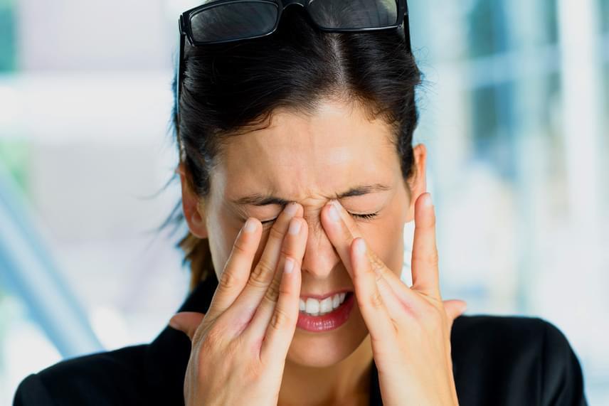 szemészeti szemhéj rángatás