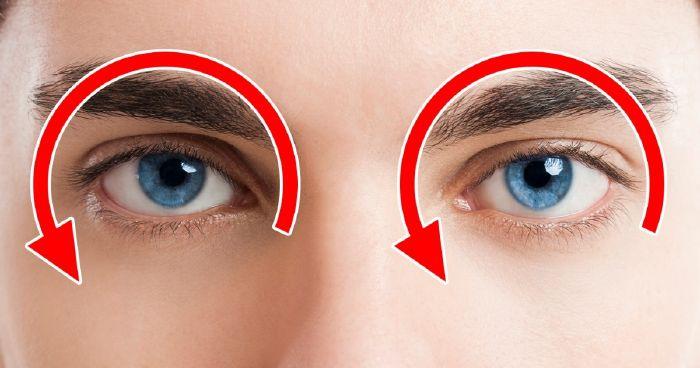 az egyik szem látásának éles javulása)