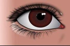 kihajtott szemek a látáshoz lebegő látás az egyik szemben