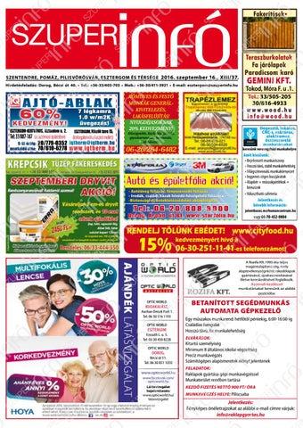 60% KEDVEZMÉNY! AJÁNdÉk LÁTÁSVIZSGÁLAT AJTÓ-ABLAK - PDF Free Download