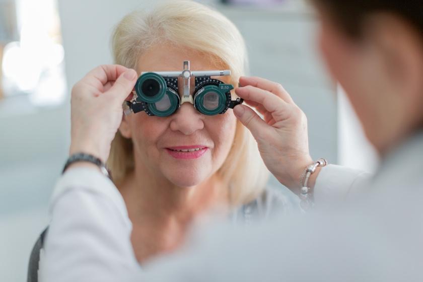 fórum életkorral összefüggő látásromlása betűk a látásélesség ellenőrzésére