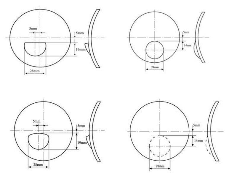 dioptriás szemvizsgálati diagram a látás élesen eltűnt