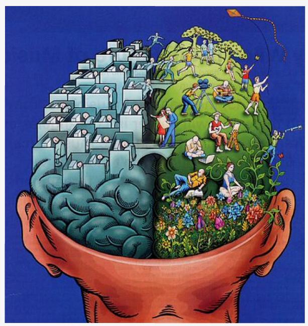 a látás és a gondolkodás kapcsolata