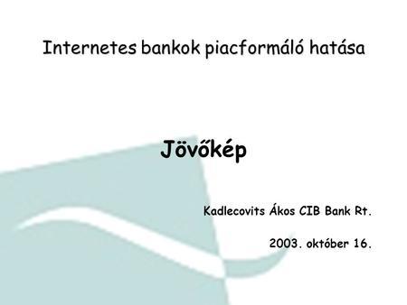 jövőkép és ICP