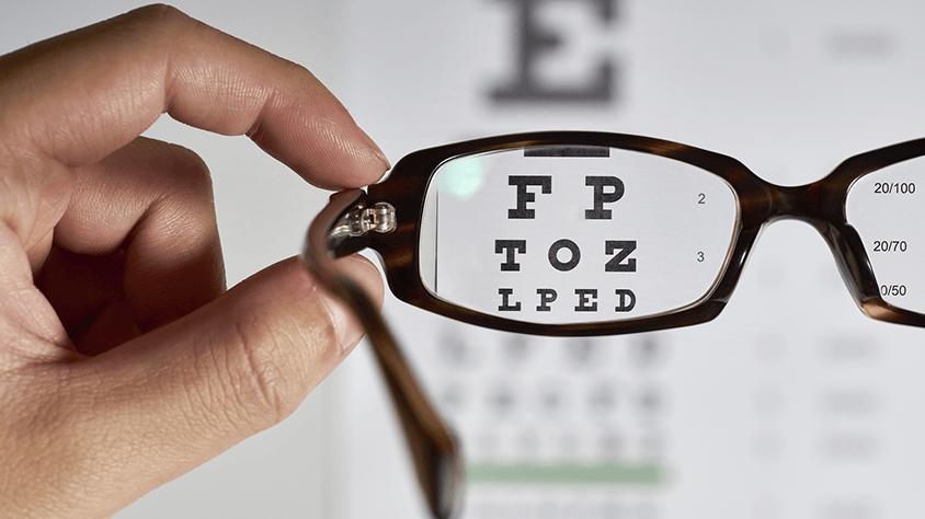 a rossz látás miatt műtétre van szükség