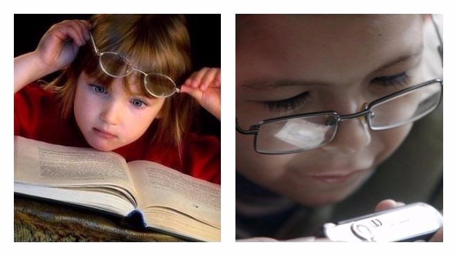myopia, életkorral összefüggő hyperopia volt)