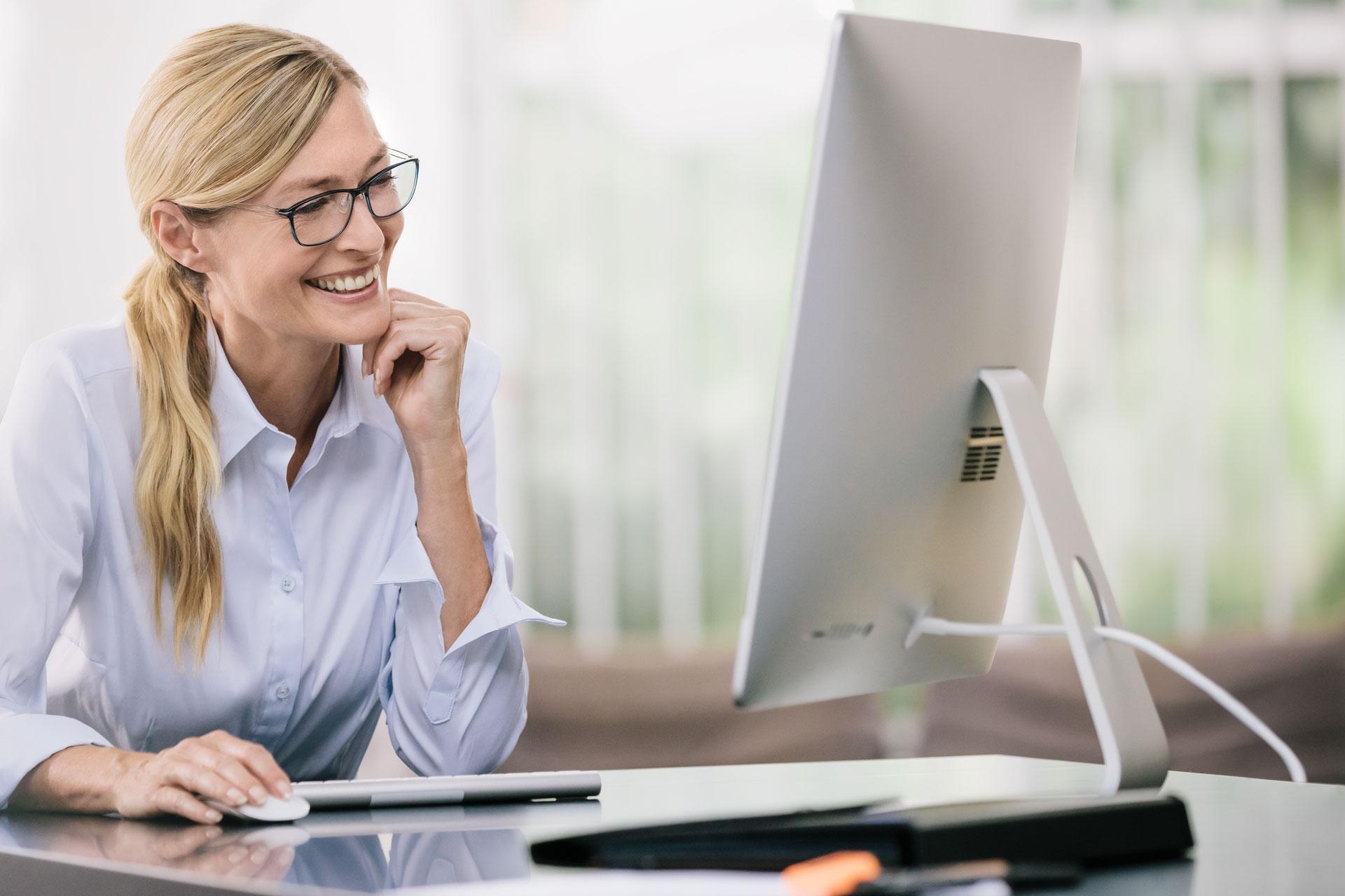 látás számítógépes munka közben