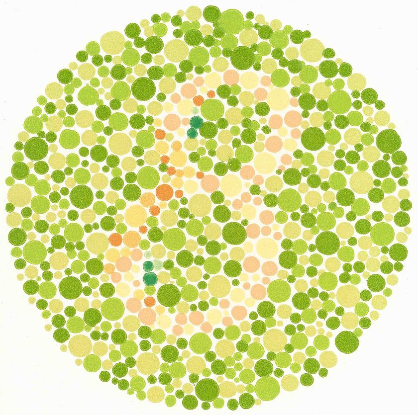 színvakság szemvizsgálat online teszt)