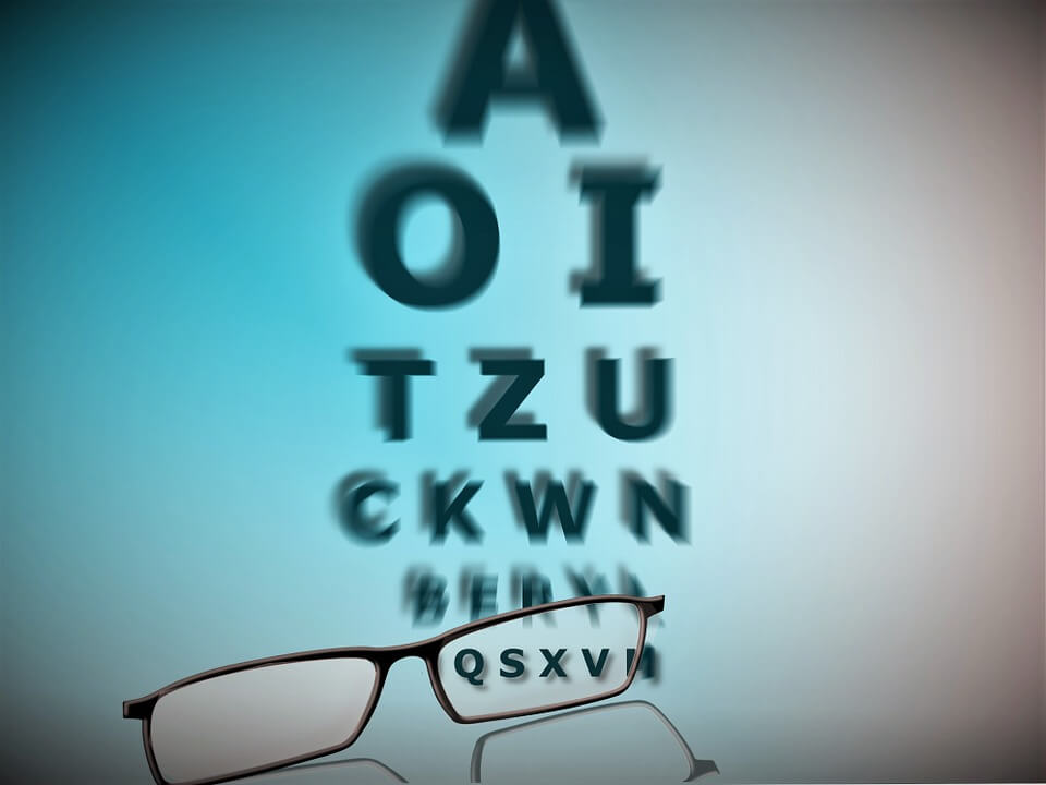 A 0,5 látás rossz)