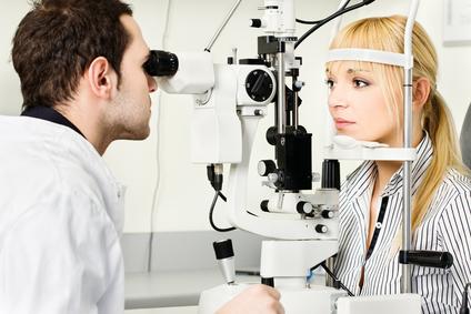 optikus szemvizsgálat