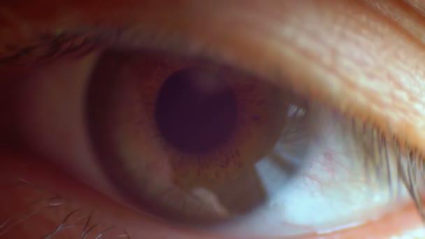 a látási probléma villog