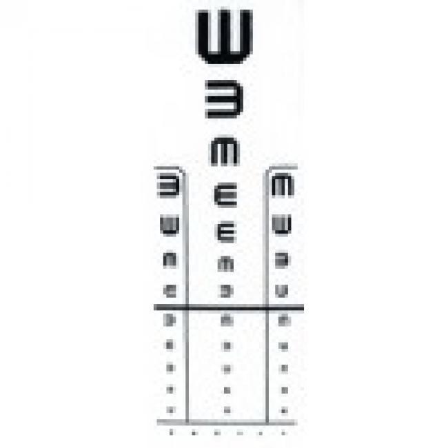 alsó látásvizsgálat