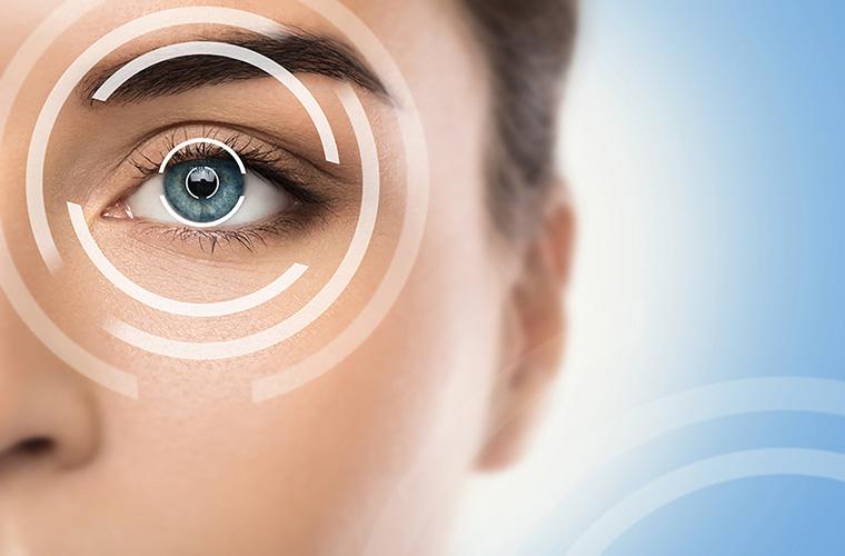 A szemek flash kezelése