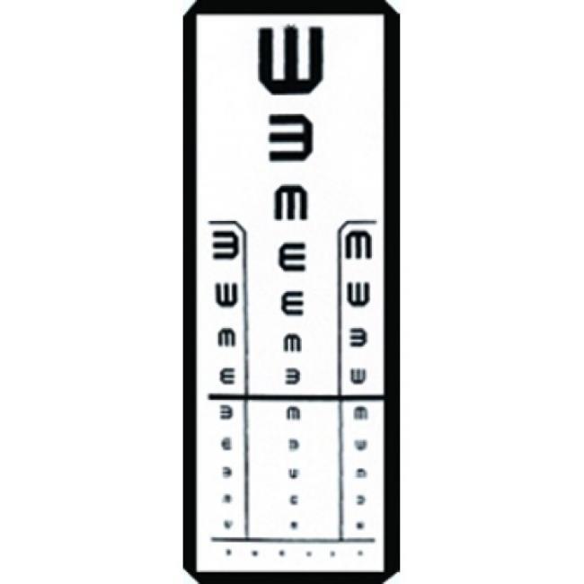 betűtípusok a látásvizsgálathoz)