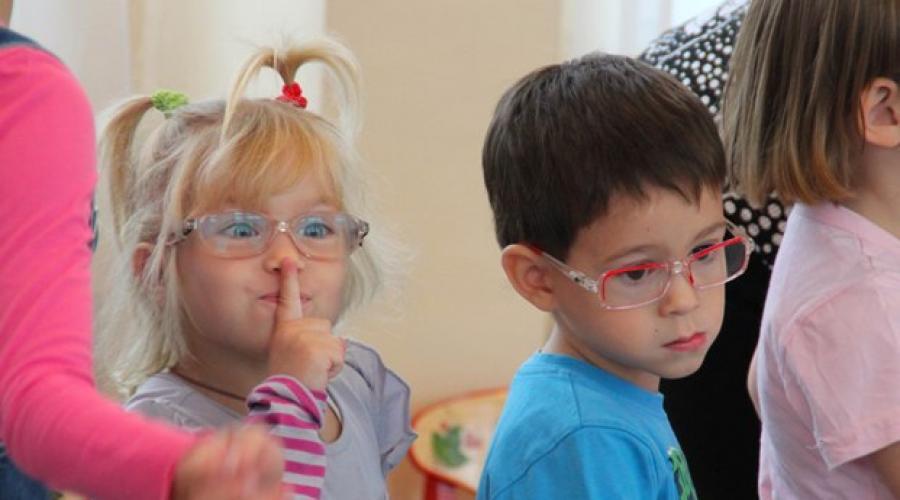 Az óvodáskori látássérült gyermekek fejlődésének jellemzői - Feszültség September