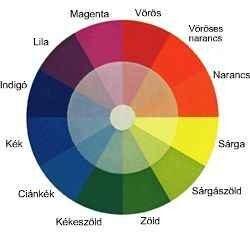 színvakság és normális látás)
