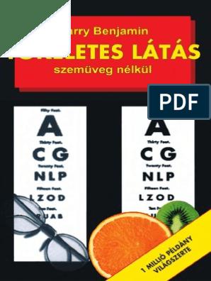 tökéletes látás szemüveg nélkül könyv pdf)