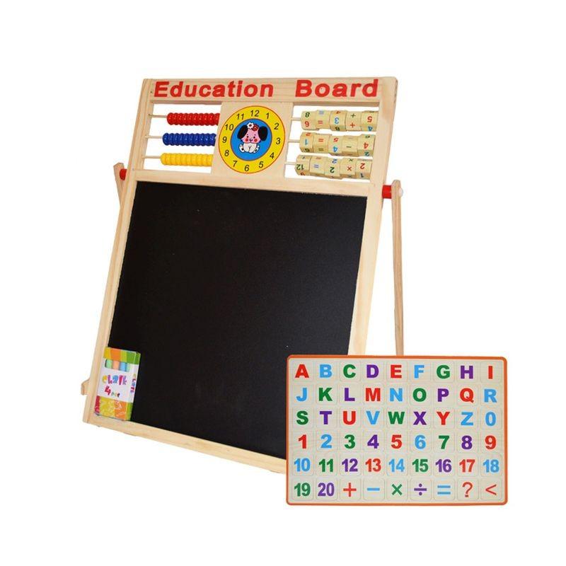 Quercetti Mágneses tábla betűk + számok vásárlás a Játékshopban