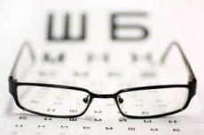 betűk a látásélesség ellenőrzésére