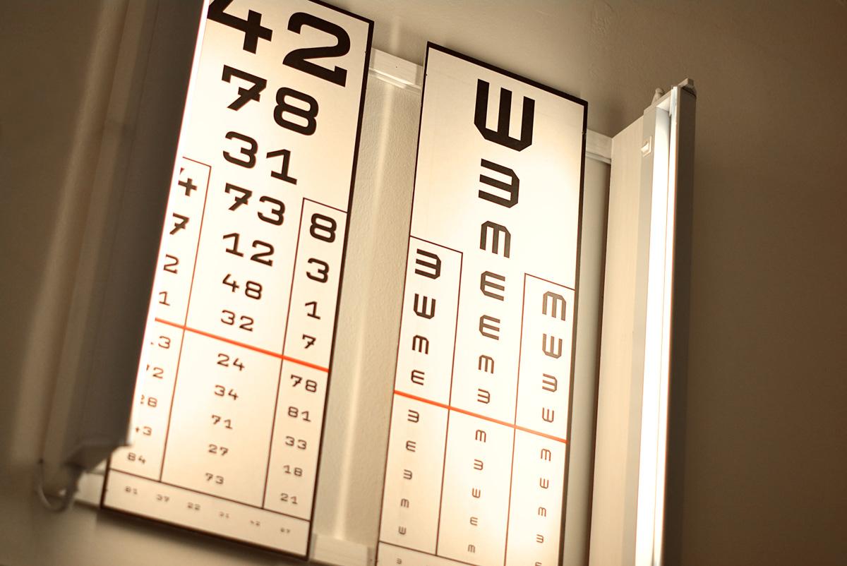 nehéz látásvizsgálat