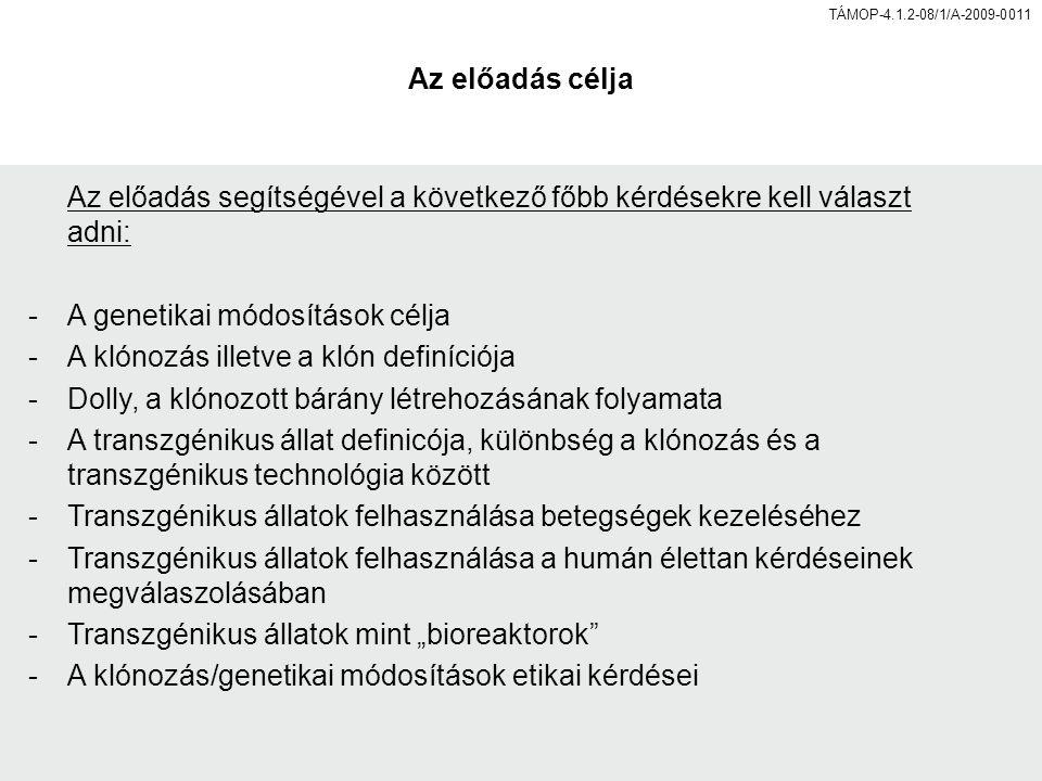 etikai klónozás)
