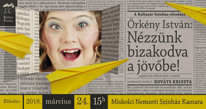 emeletre néző újság