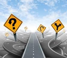Gondolkodás innováció jövőkép stratégiai koncepció - stock kép
