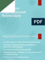 hidroterápia a látáshoz)