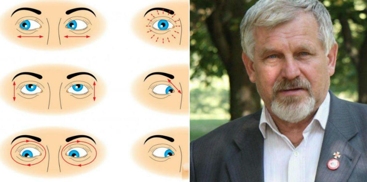 szemtorna a látás javítása érdekében
