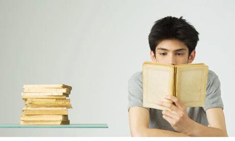 látvány és könyvolvasás)