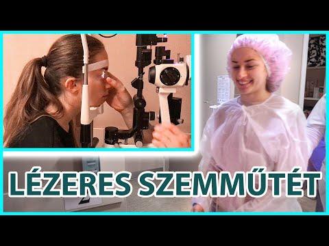 lézeres látáskezelés műtét után)
