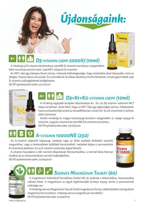 Szemerő és látásjavító vitaminok | Gyógyszer Nélkül