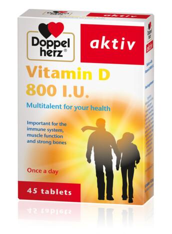 Doppel Herz Kalcium+D3 vitamin tabletta