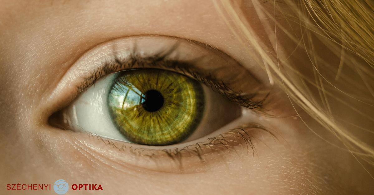 a jobb szem látásélessége