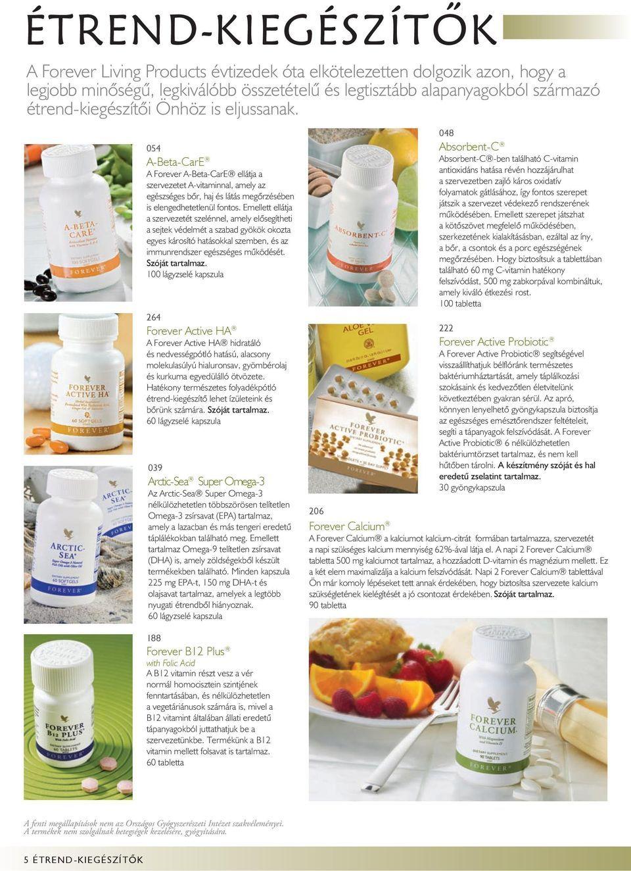 vitaminok a látási termékekben